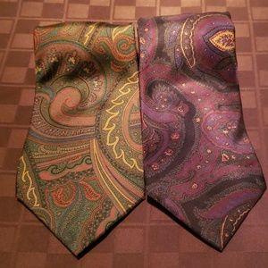 Ralph Lauren Silk Purple Label Ties